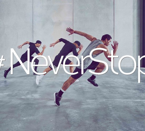 Chisel #NeverStop Fitness - Brand Identity